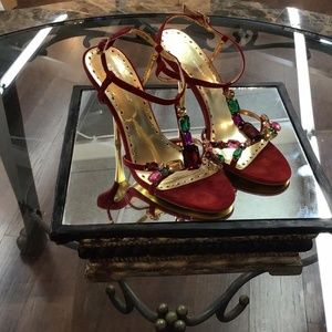 BCBGeneration Oxblood Red Bg-lisa Shoes